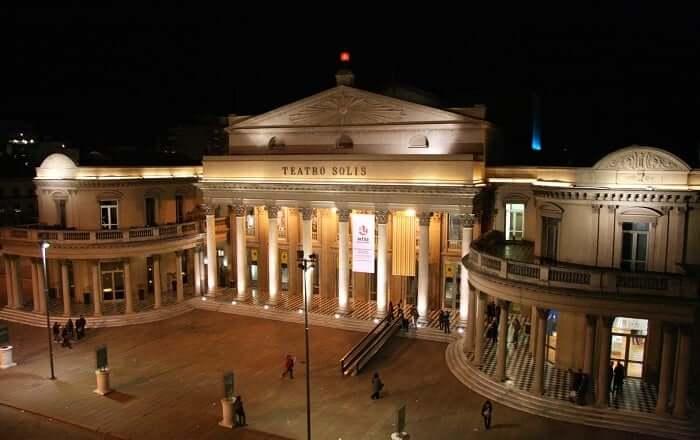 Teatro Solís em Montevidéu