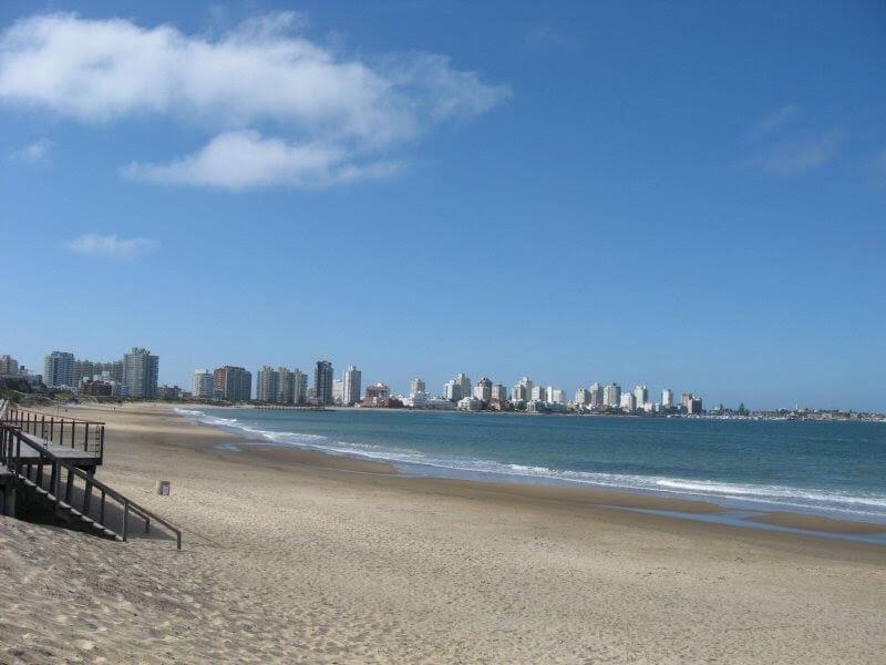 Punta del Este em janeiro: Playa Brava
