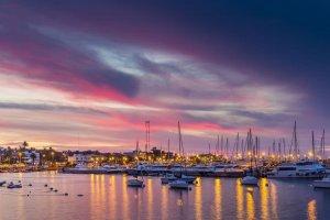 Porto de Punta del Este: embarcações