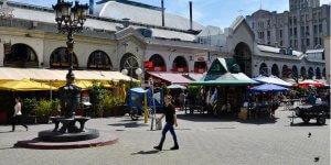 Montevidéu em abril: Mercado del Puerto