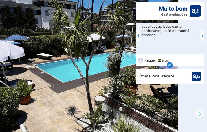Hotéis bons e baratos em Punta del Este: Hotel Camelot