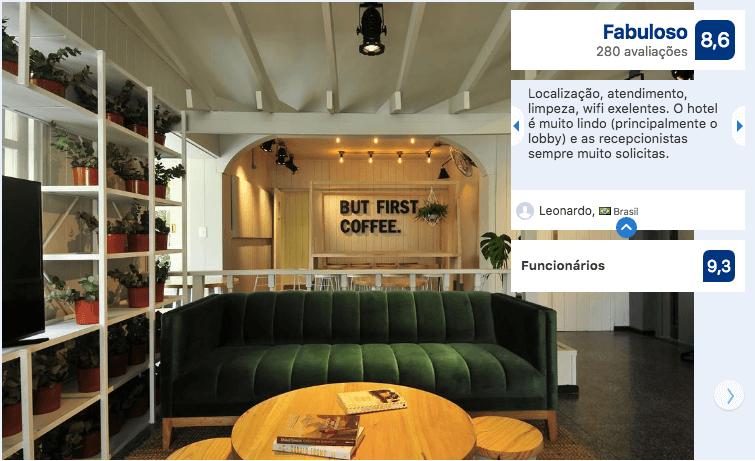 Hotéis bons e baratos em Punta del Este: Hotel Dollar