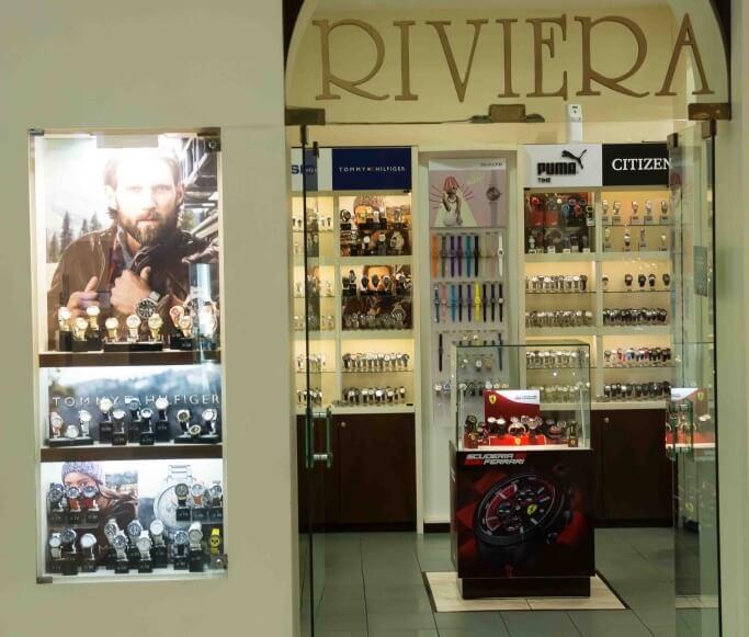 Onde comprar relógios em Montevidéu: Riviera Joyas em Punta Carretas Shopping