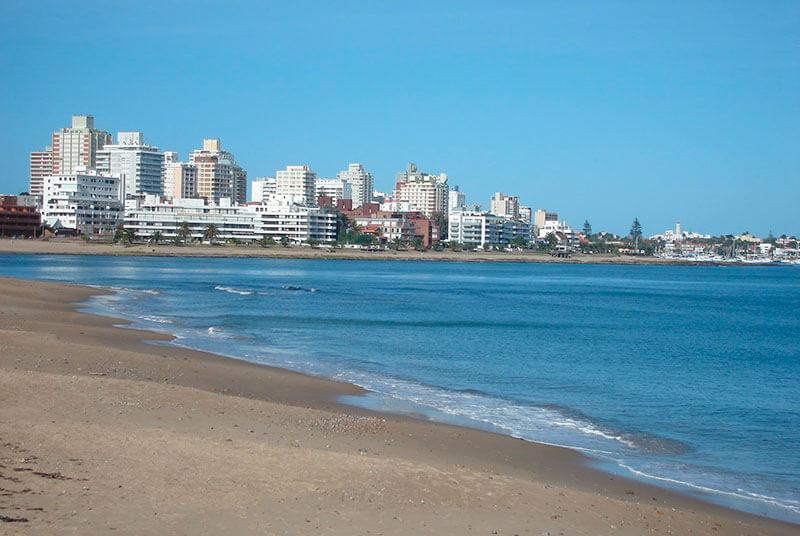 Punta del Este em março: Playa Mansa