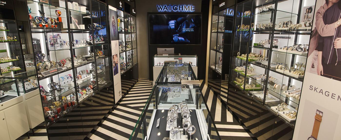 Onde comprar relógios em Montevidéu: Watch Me em Montevideo Shopping