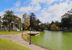 Montevidéu em abril: Parque Rodó