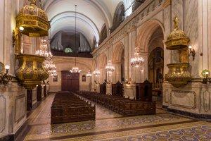 Catedral Metropolitana de Montevidéu: interior