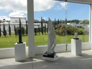 Parque das Esculturas em Punta del Este: sala de exposições