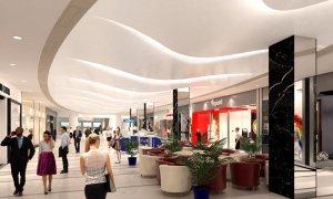 Punta Carretas Shopping em Montevidéu: interior