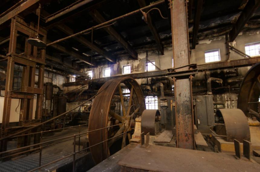 Museu da Revolução Industrial no Uruguai: fábrica