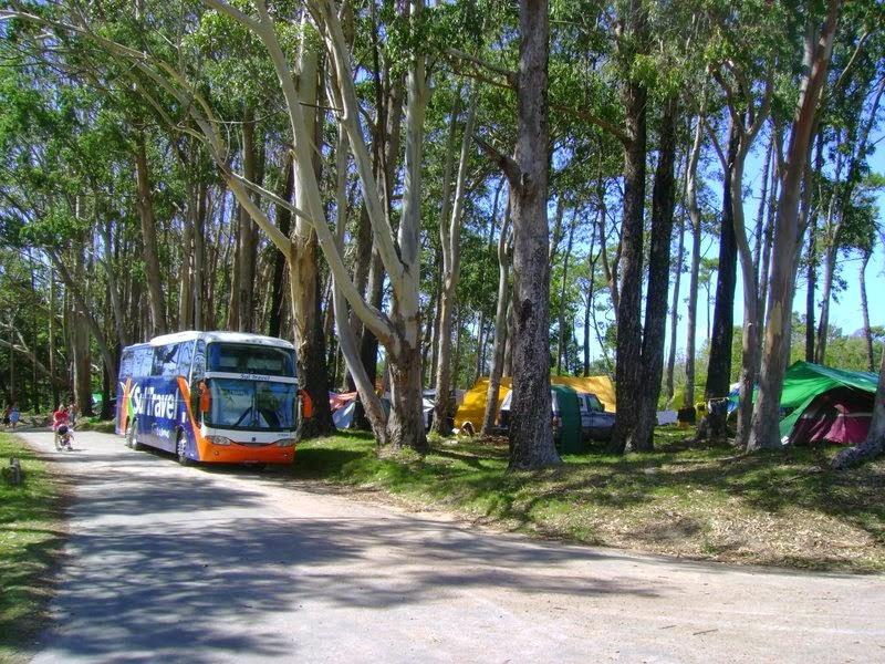 Parque Nacional de Santa Teresa no Uruguai: campings