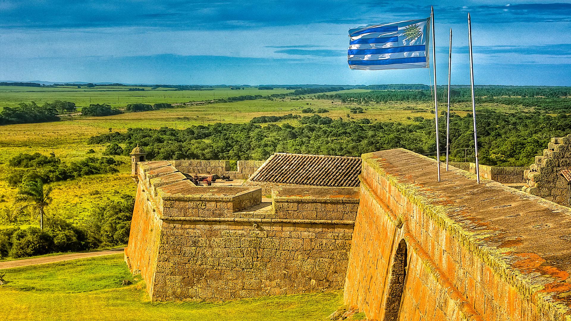 Parque Nacional de Santa Teresa no Uruguai: fortaleza