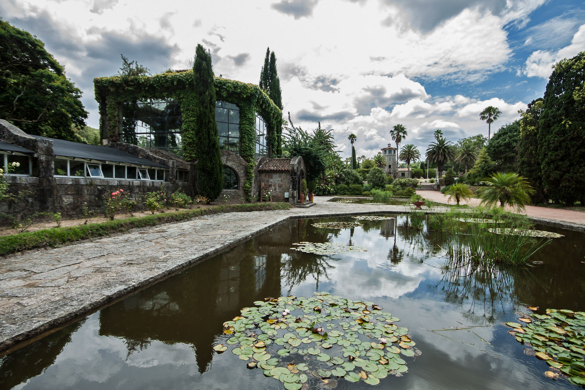 Parque Nacional de Santa Teresa no Uruguai: roseiral