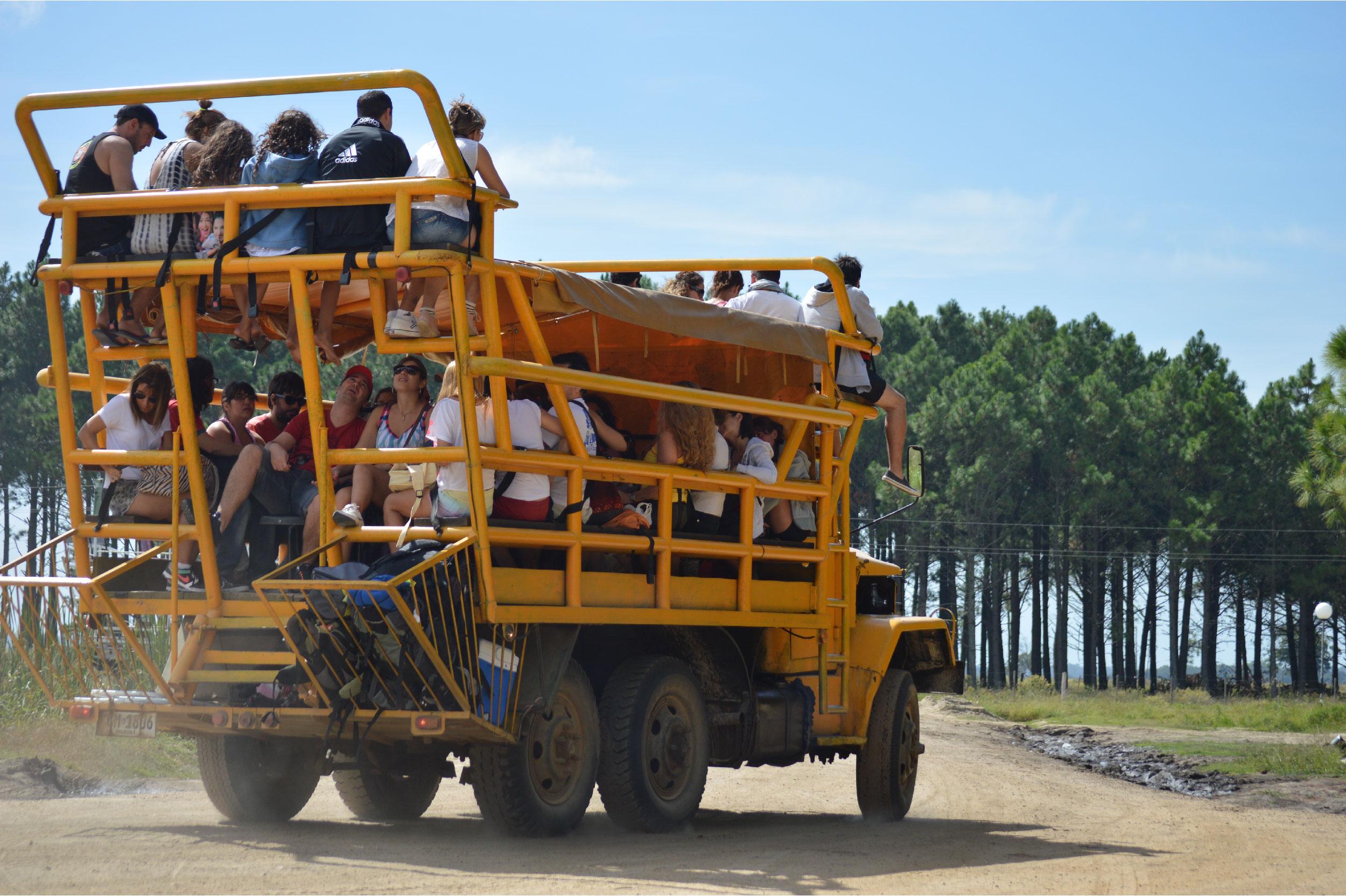 Cabo Polônio no Uruguai: 4x4