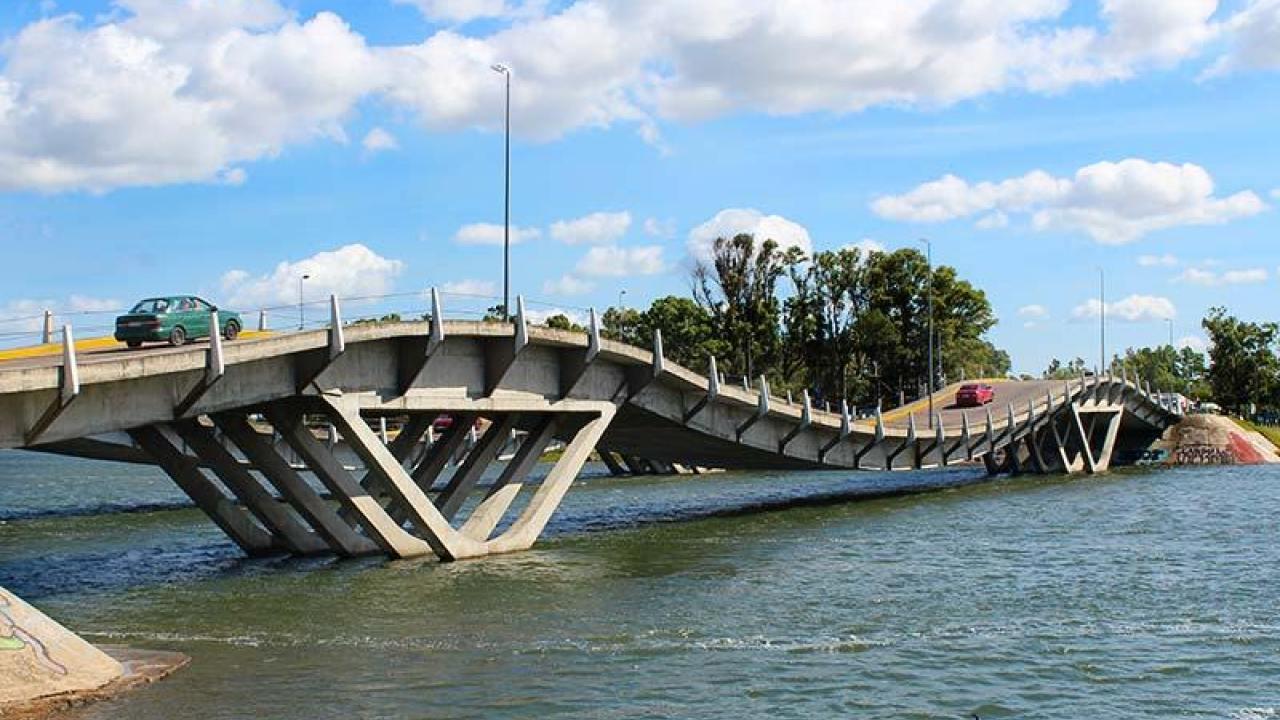 La Barra no Uruguai: ponte