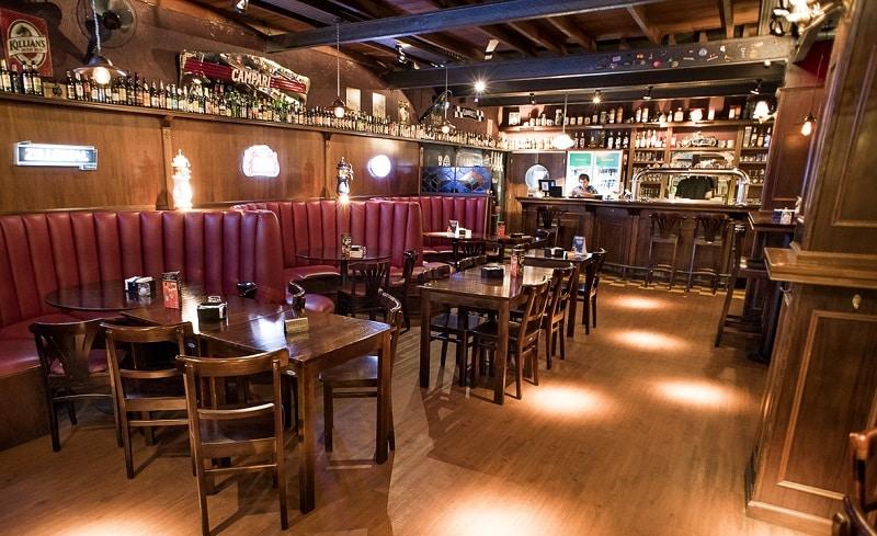Bar Gallagher's em Pocitos - Montevidéu