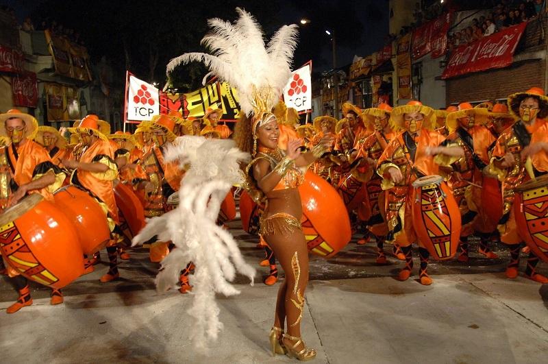 Desfile de Llamadas em Montevidéu
