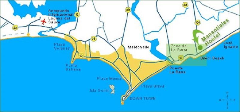 Bairros e regiões de Punta del Este