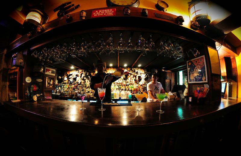 Bar Moby Dick em Punta del Este