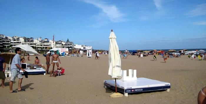Playa Bikini em Punta del Este