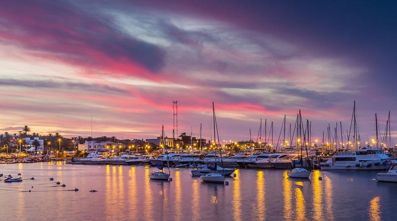 Sunset em Punta del Este