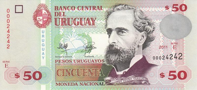 50 pesos uruguaios