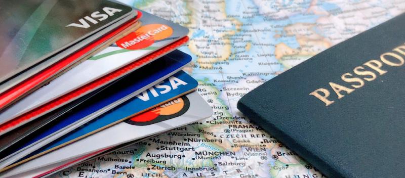 Cartão de crédito para viagem ao exterior