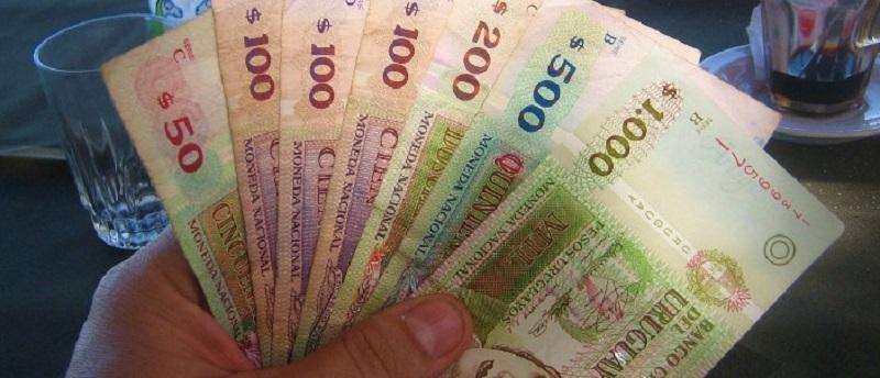 Pesos uruguaios - Dinheiro vivo