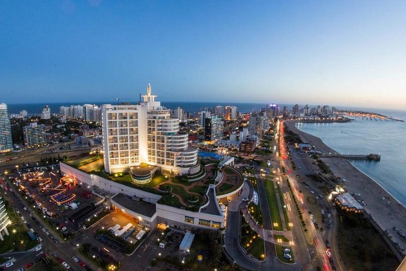 Hotel no Uruguai
