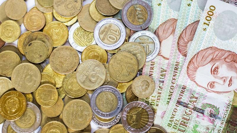 Peso uruguaio - Moeda e nota