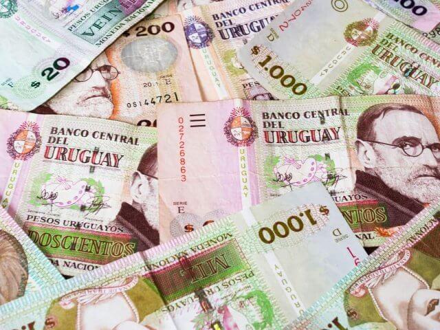 Como levar dinheiro para Montevidéu: dinheiro vivo - pesos uruguaios
