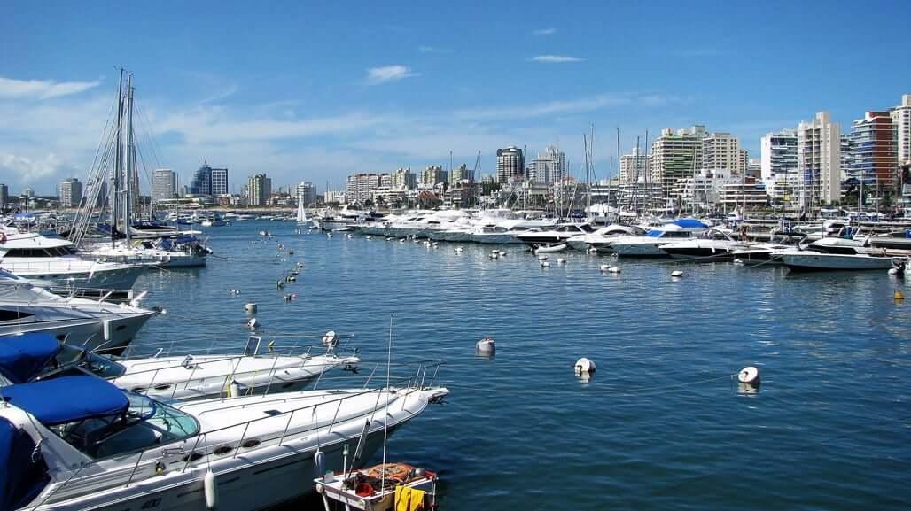 Pontos turísticos em Punta del Este: Porto de Punta del Este
