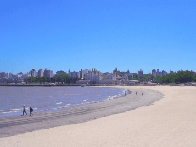 Praias em Montevidéu: Playa Ramirez