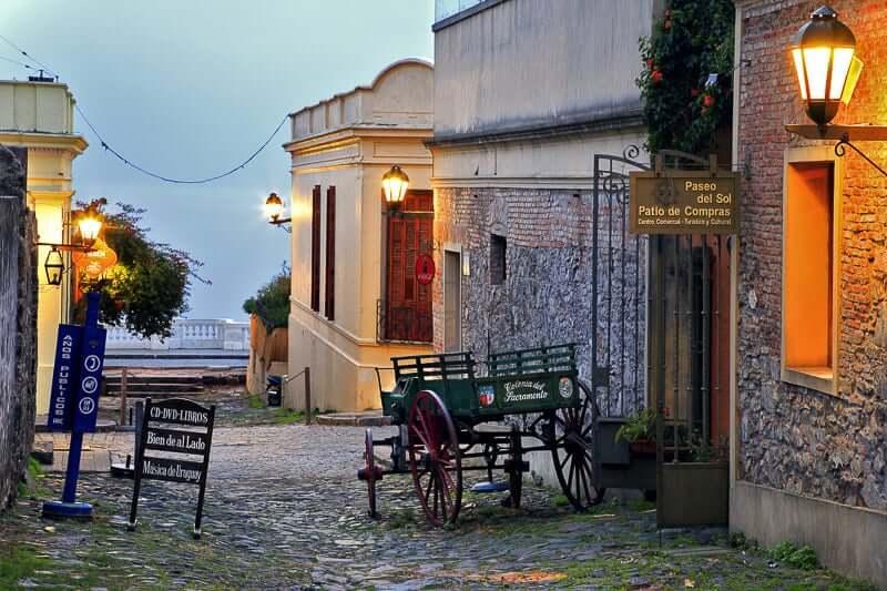 Ruelas da Colonia del Sacramento - Uruguai
