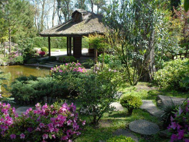 Passeios românticos em Montevidéu: Jardim Japonês