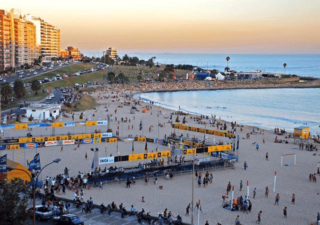 Remessas internacionais para Montevidéu