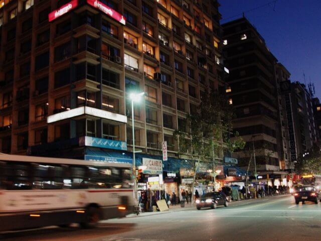 Montevidéu em agosto