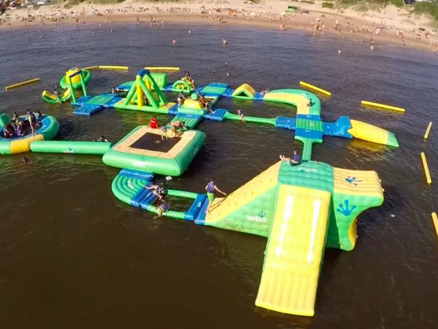 Parque Aqua Splash Park em Punta del Este