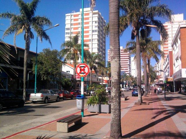 Avenida Gorlero em Punta del Este