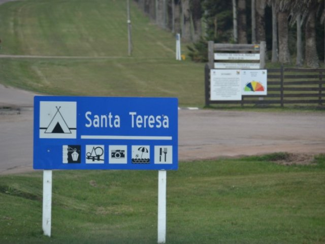 Parque Nacional de Santa Teresa no Uruguai