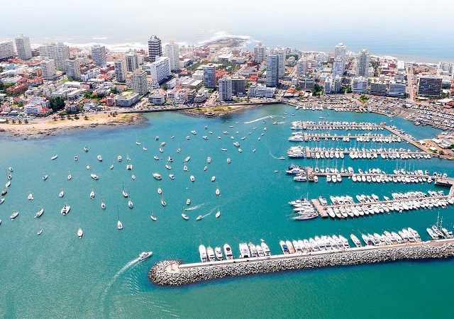 Remessas internacionais para Punta del Este