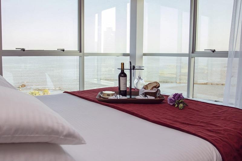 Quarto de hotel luxuoso em Montevidéu
