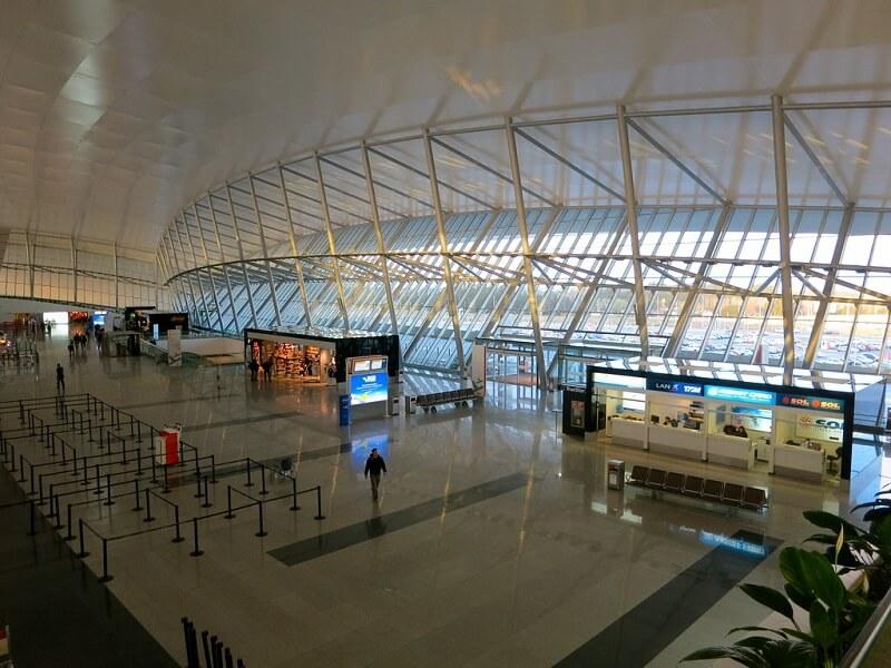 Aeroporto no Uruguai