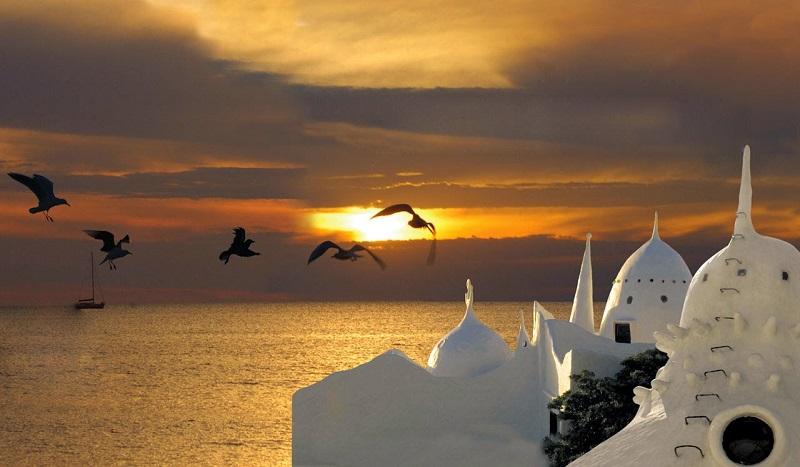 Pontos turísticos no Uruguai: Casapueblo em Punta Ballena