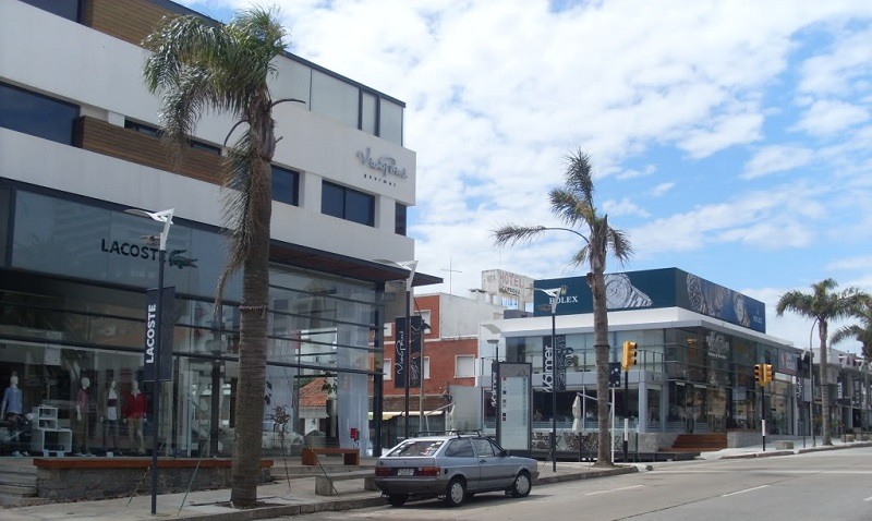 Calle 20 em Punta del Este