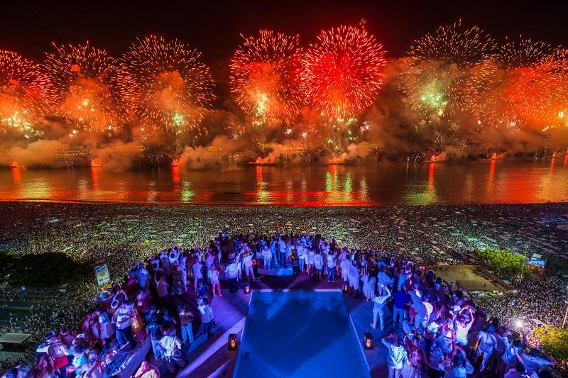Lugar para ir no Ano Novo no Uruguai: festas