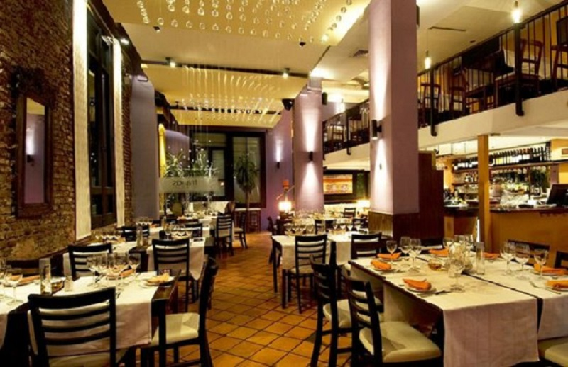Restaurante Francis no Ano Novo no Uruguai