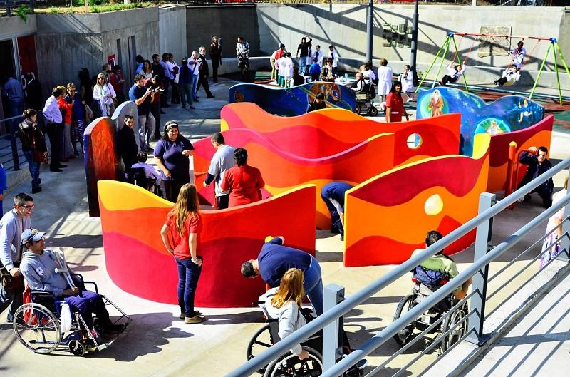 Pontos turísticos para deficientes físicos no Uruguai: Parque de la Amistad