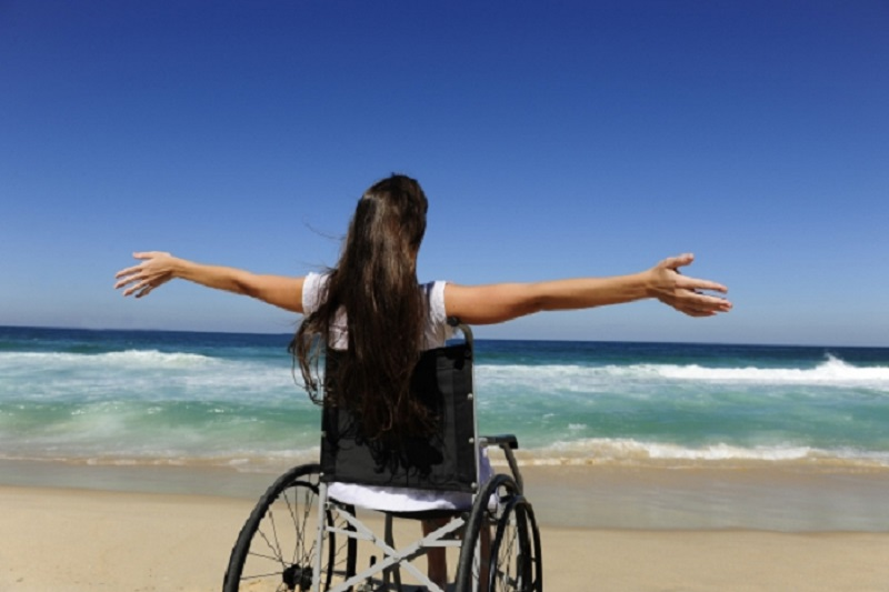 Praias para deficientes físicos no Uruguai