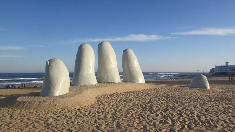 Los Dedos em Punta del Este - Uruguai